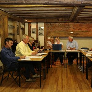 barley-parish-council-at-their-monthly-meeting