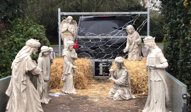 travelling nativity